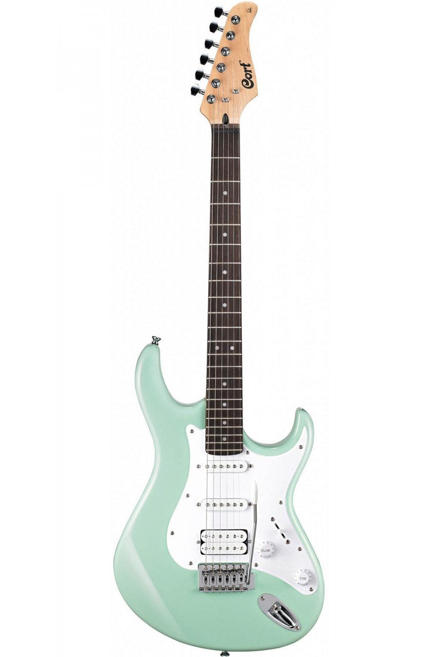 cort electric guitar series caribien green. Black Bedroom Furniture Sets. Home Design Ideas