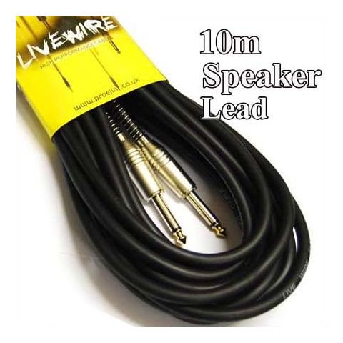 Other :: Cables :: Speaker Cables :: Livewire 10m Speaker Lead