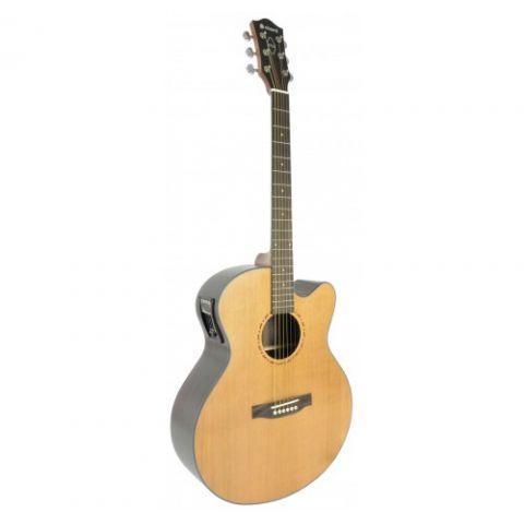 chord salamander sc6j acoustic electric guitar. Black Bedroom Furniture Sets. Home Design Ideas